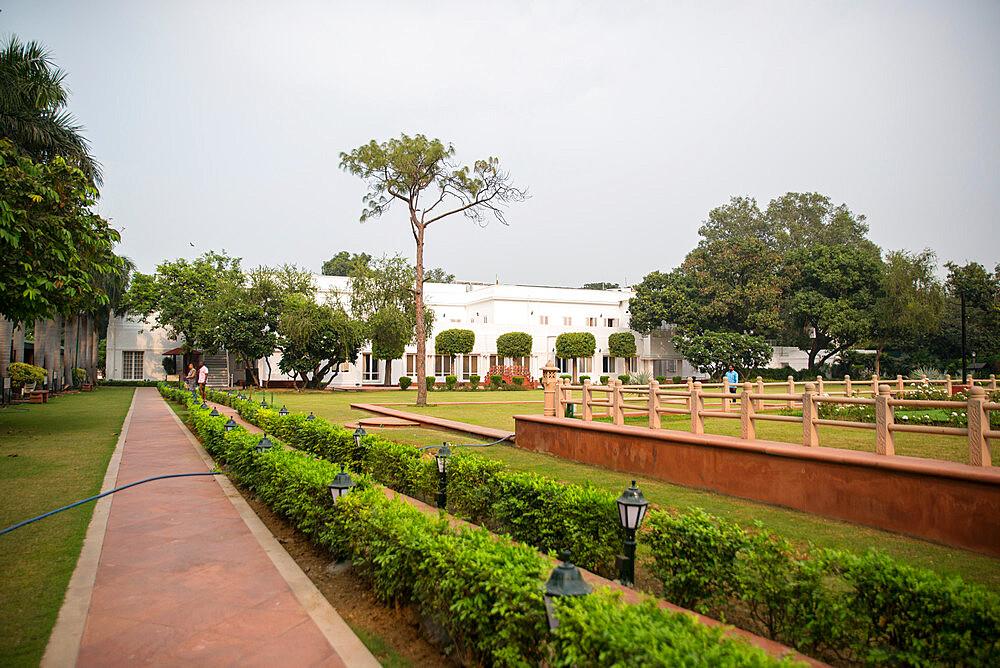 Gandhi Smriti, Memorial Museum to Mahatma Gandhi and site of assassination, New Delhi, India, Asia - 1341-76