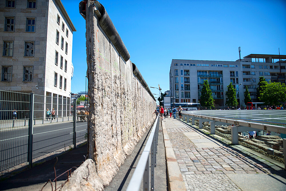 Section of the Berlin wall by the Topography of Terrors museum - 1341-95