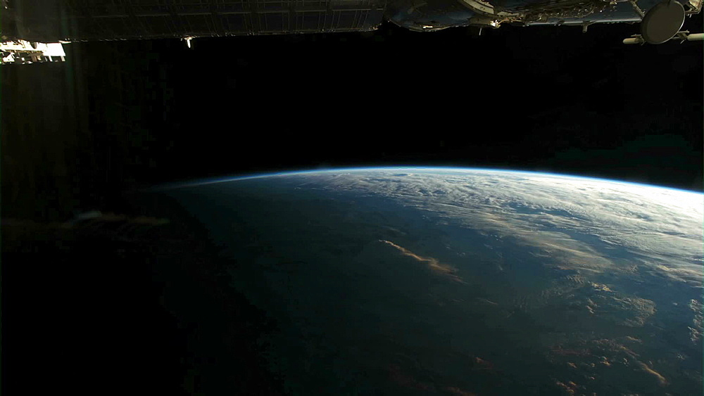 Daily Cycle from ISS