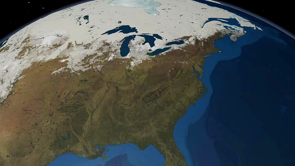 Clouds, Snow Cover, Sea Ice Sequence