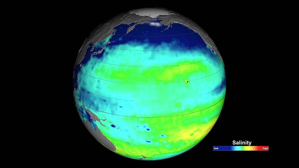 Sea Surface Salinity Levels