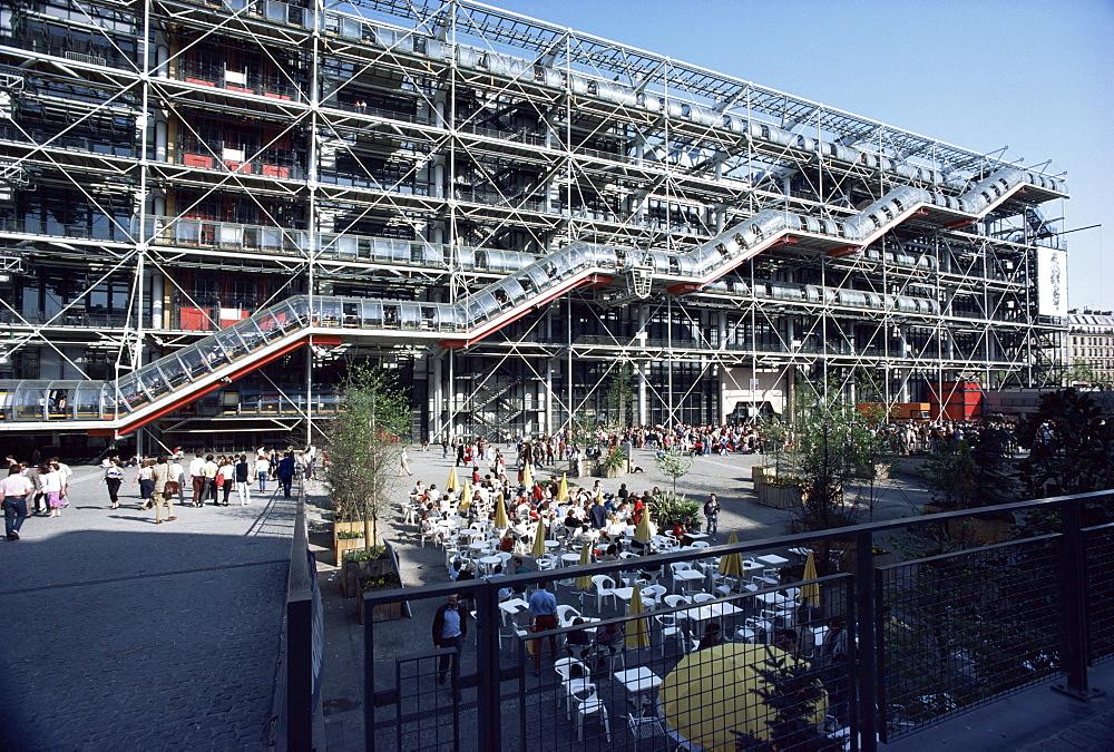Pompidou Centre, Paris, France, Europe