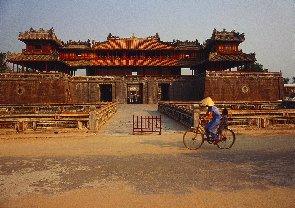 Ngo Mon Entrance, Thai Hoa Palace, Hue, Vietnam - 142-2927