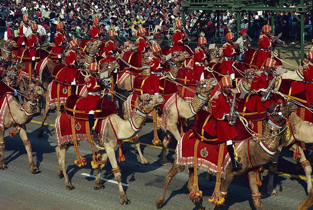 Contingent Parades, Republic Day, Delhi, India, Asia - 142-3893