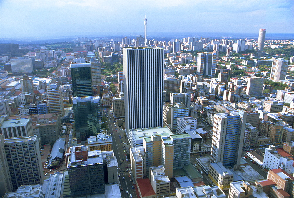 Skyline, Downtown, South Africa, Africa - 142-5808