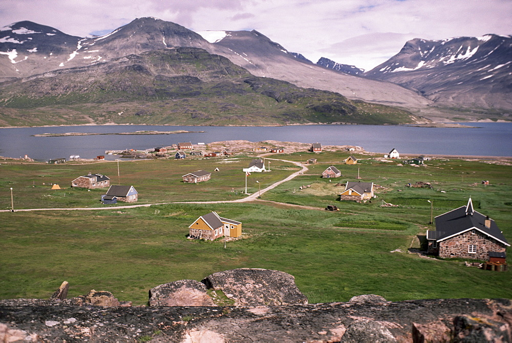 Igaliko (Gardar), Viking site, Greenland, Polar Regions