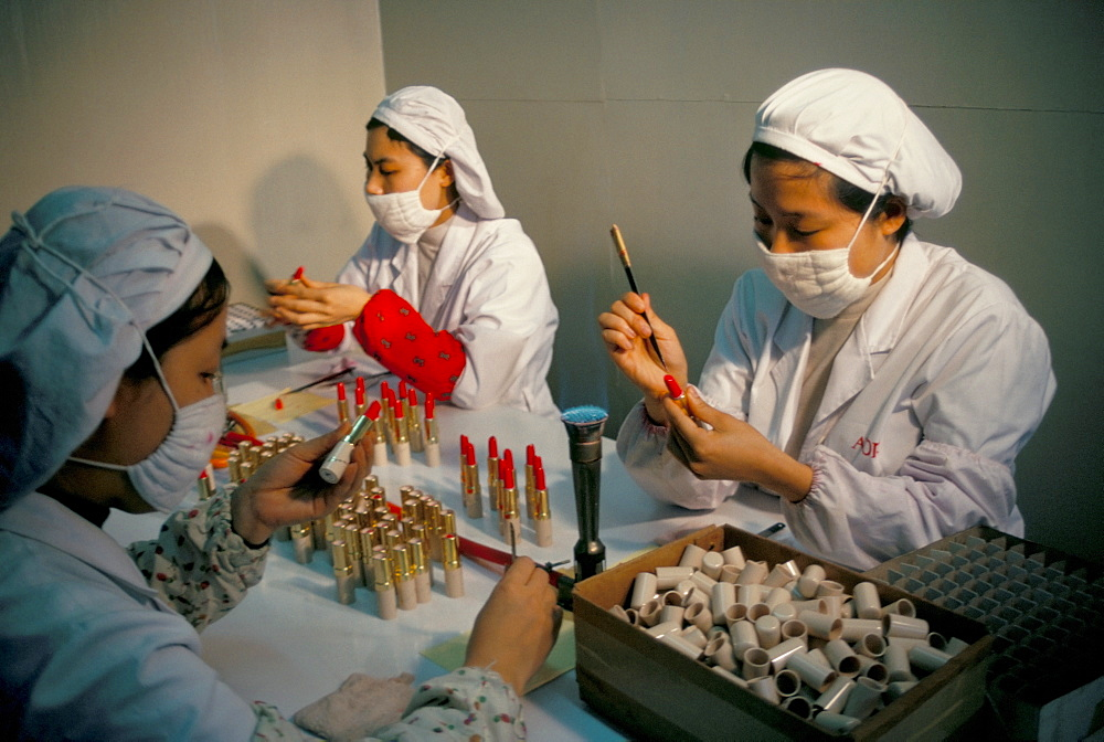 Cosmetics factory, Guanzhou, Guangdong province, China, Asia