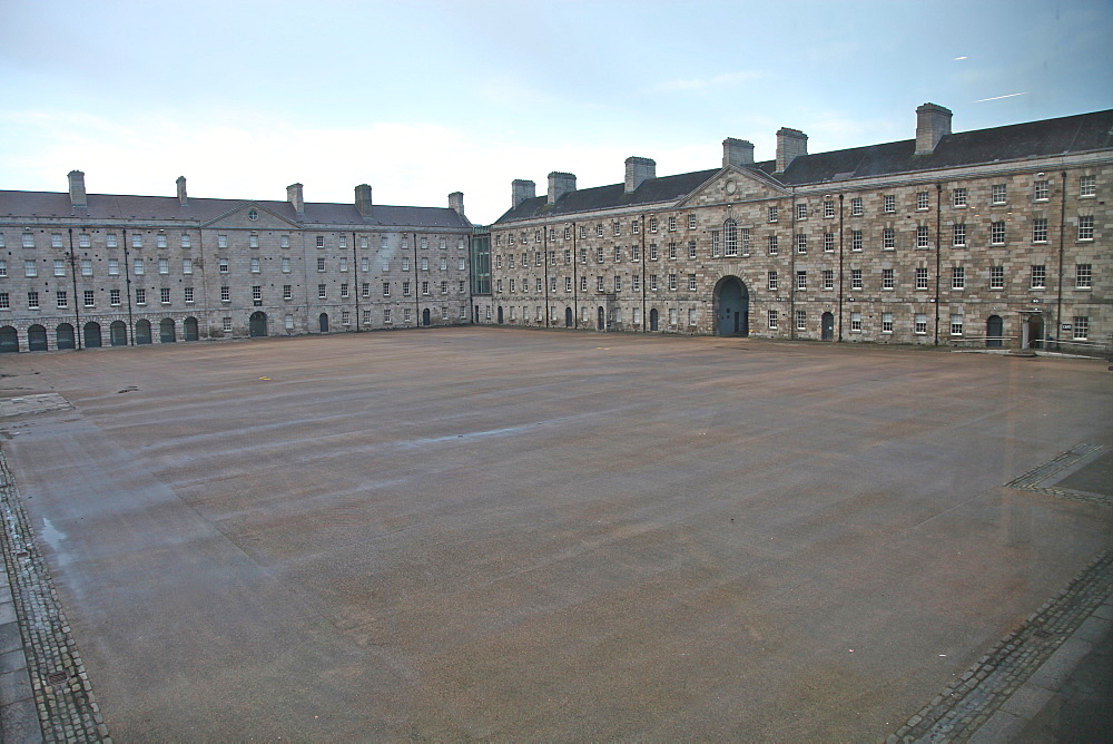 Former drill square and barracaks, now part of the National Museum of Ireland, Dublin, Republic of Ireland, Europe - 166-5422