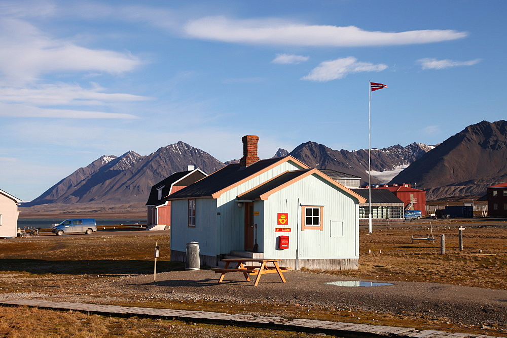Most northerly Post Office in the world, Ny Alesund, Svalbard, Norway, Scandinavia, Europe - 166-5476
