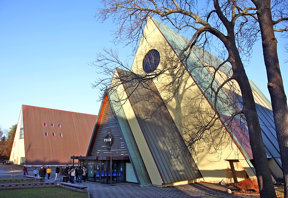 Fram Museum, Maritime Museum, Oslo, Norway, Scandinavia, Europe - 166-5498