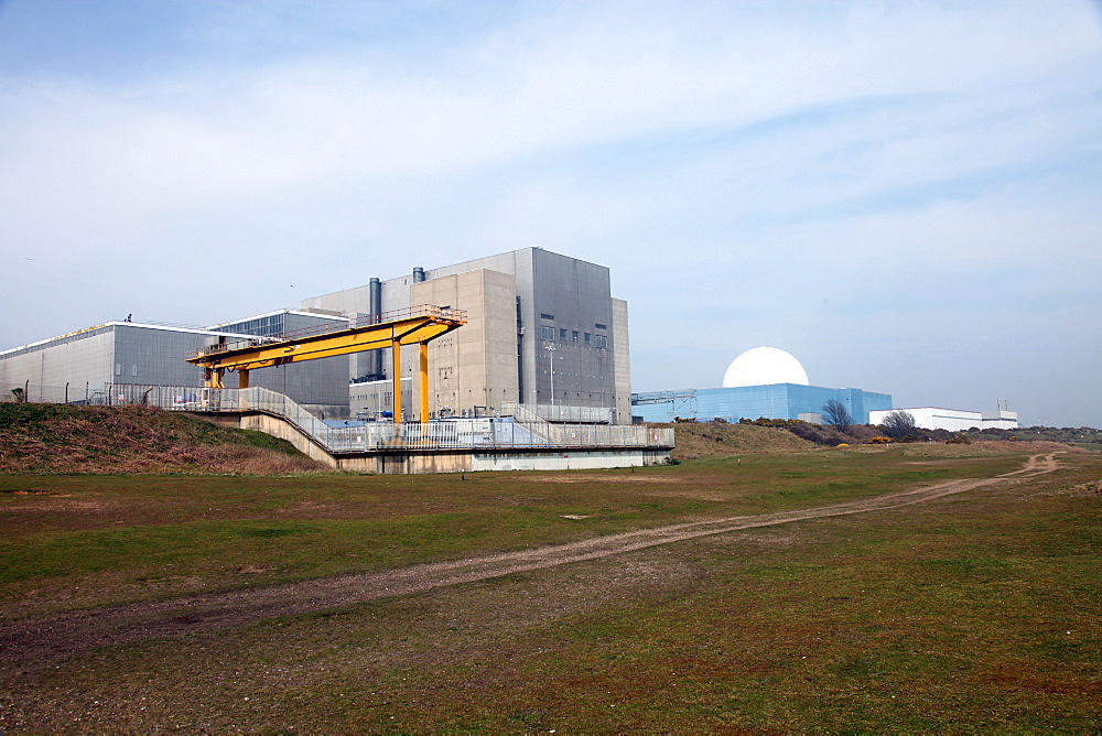 Sizewell Nuclear Power Station, Suffolk, England, United Kingdom, Europe
