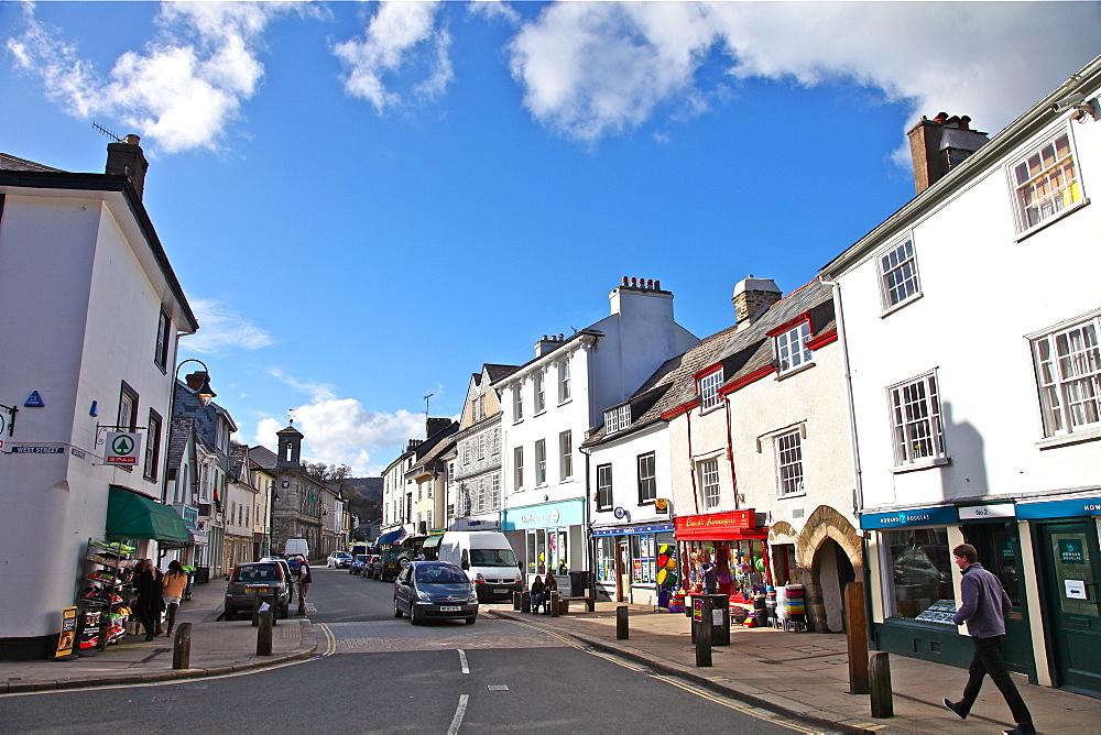Ashburton, small market town on southern slopes of Dartmoor, Devon, England, United Kingdom, Europe - 166-5521