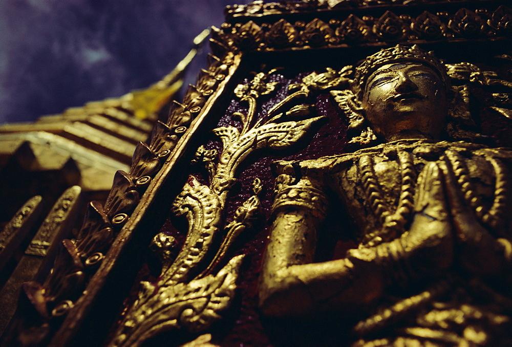 Wat Pra That, Chiang Mai, Chiang Mai Province, Thailand, Asia
