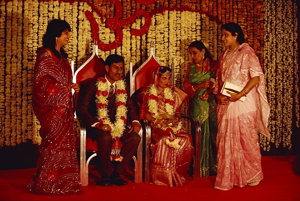 Hindu wedding, India, Asia