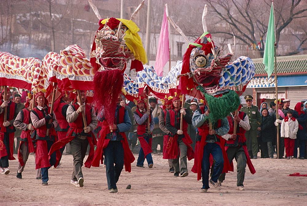 New Year celebration, Xining, Qinghai, China, Asia - 188-5493