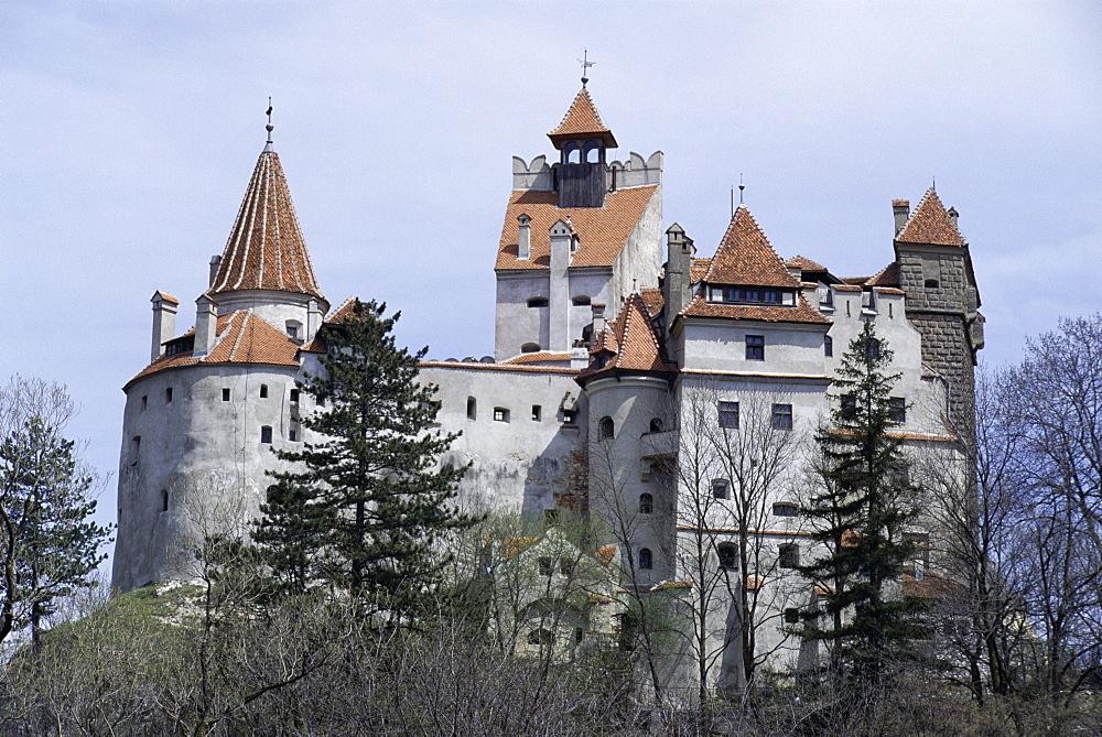 Bran Castle, (Dracula's castle), Bran, Romania, Europe - 188-5751
