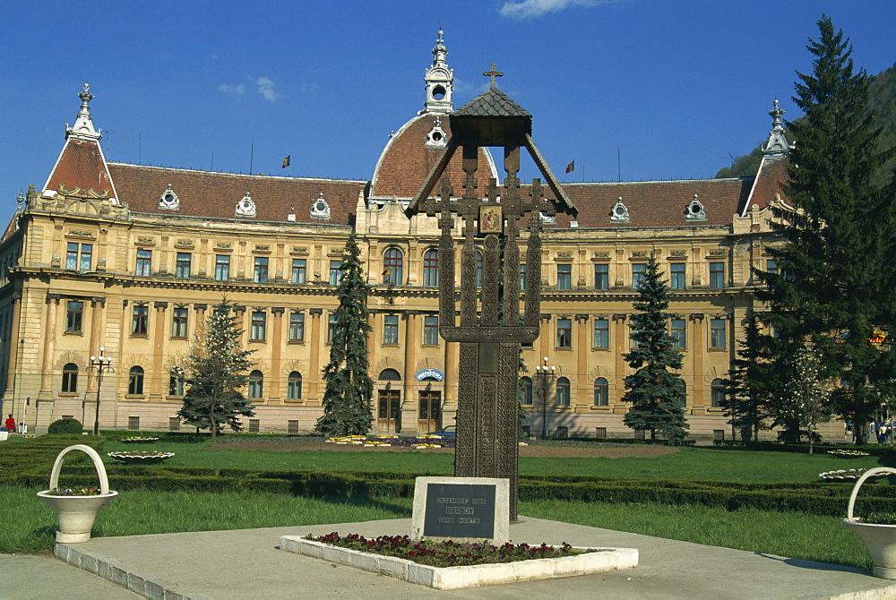 Town Hall, Brasov, Romania, Europe - 188-5762