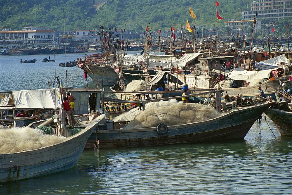 Sanya Port, Hainan Island, China, Asia - 188-6220