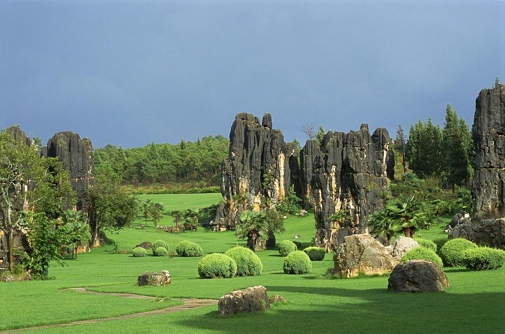 Stone Forest, near Kunming, Yunnan, China, Asia - 188-6697