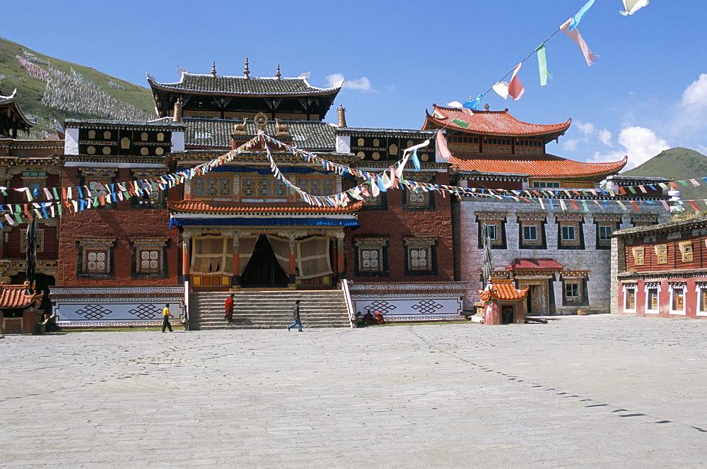Ta Gong Tibetan monastery, Sichuan Province, China, Asia