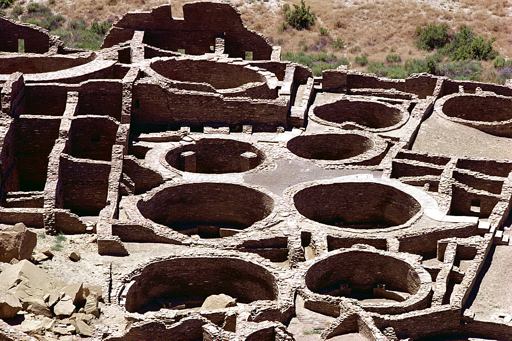 Pueblo Bonito, Chaco Canyon National Monument, New Mexico, United States of America, North America