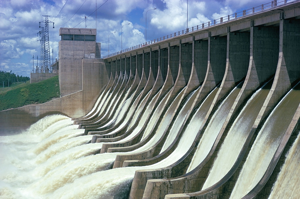 Rio Hondo Dam on Rio Dulce, Argentina, South America