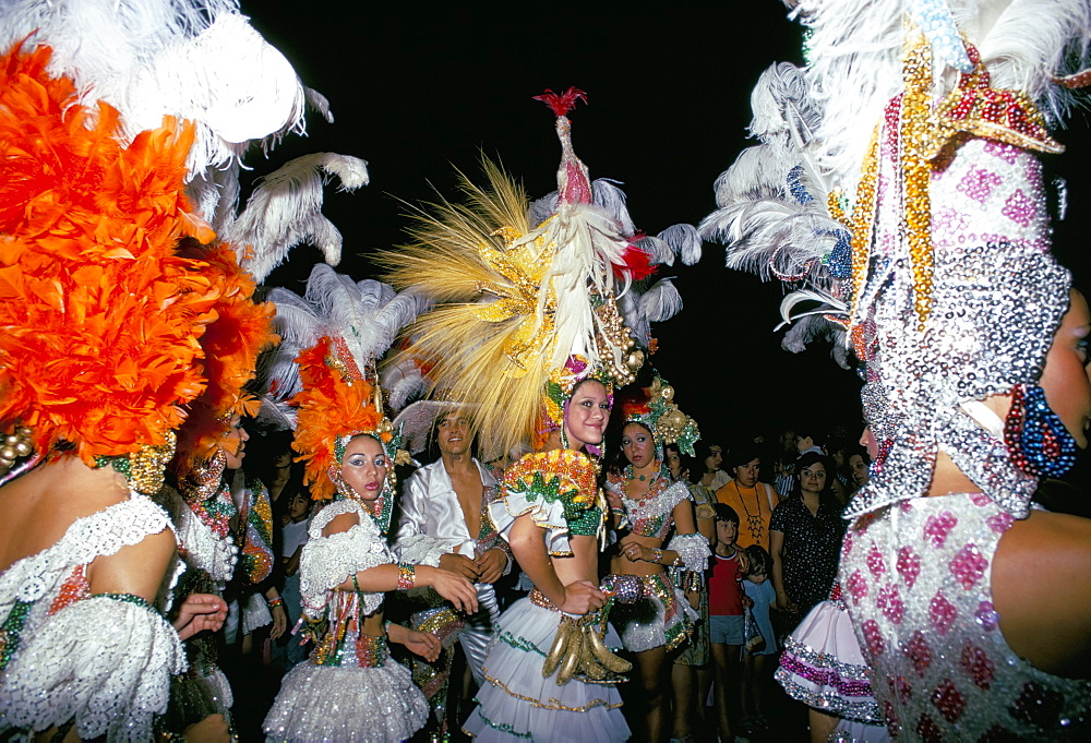 Carnival, Corrientes, northern Argentina, Argentina, South America