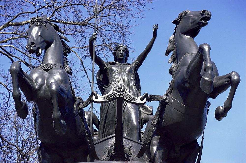 Statue of Boadicea, Westminster, London, England, United Kingdom, Europe
