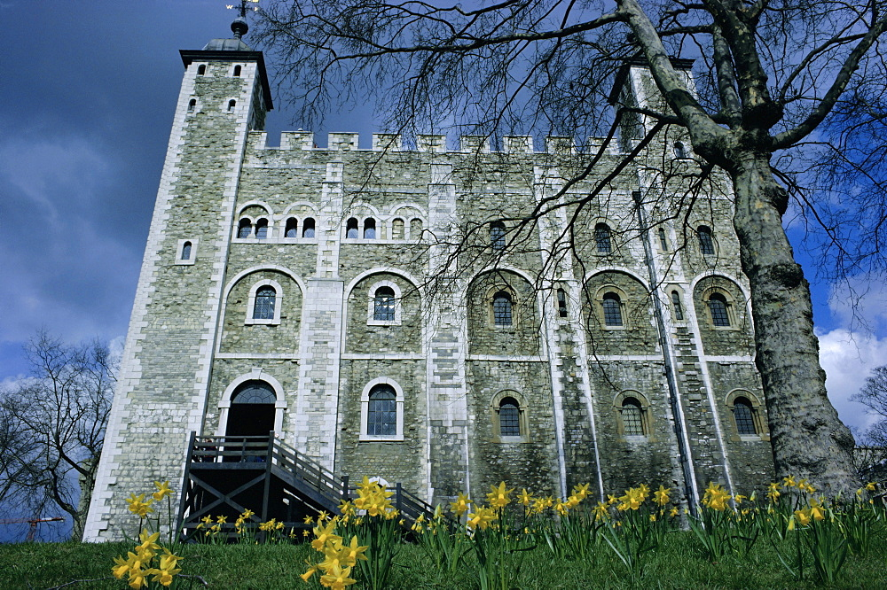 The White Tower, Tower of London, UNESCO World Heritage Site, London, England, UK, Europe