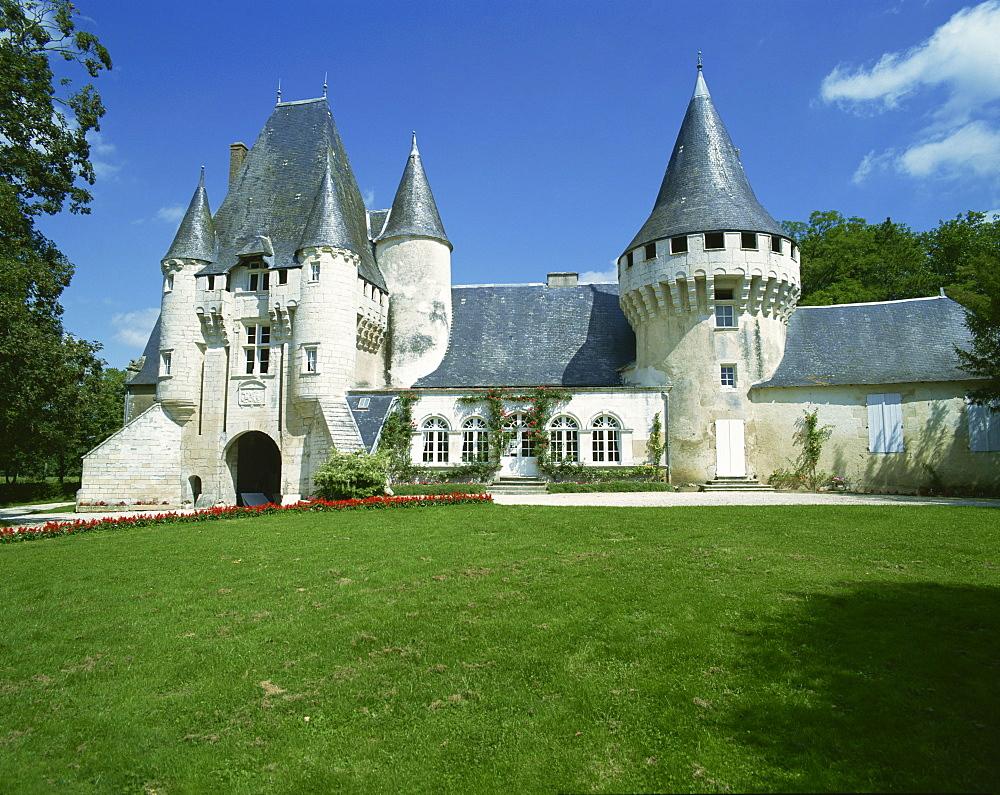 Chateau, Chef-Boutonne, Deux Sevres, Poitou-Charentes, France, Europe