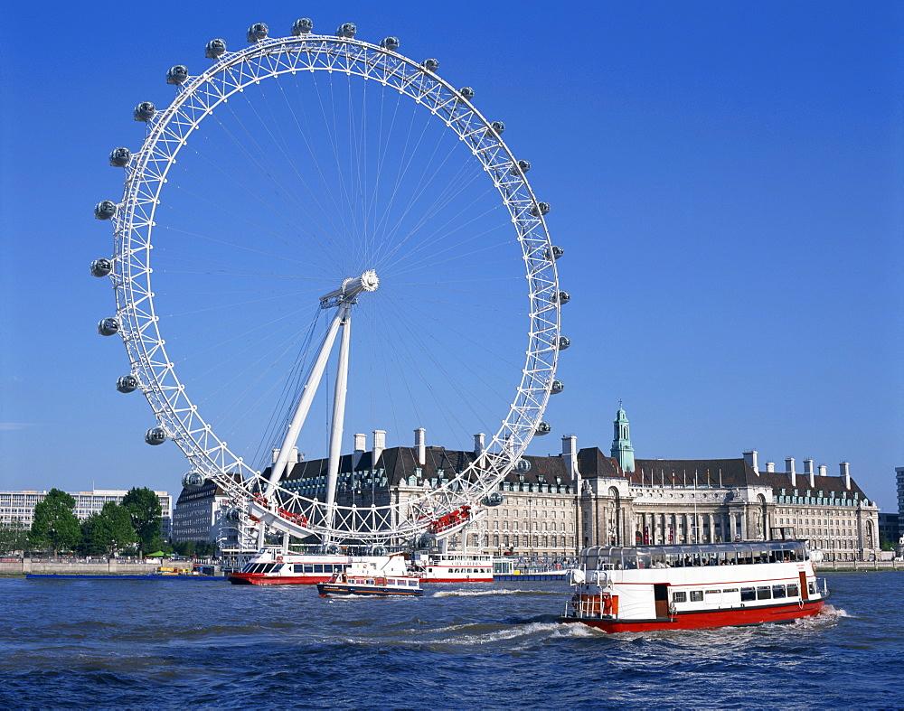 London Eye, London, England, United Kingdom, Europe