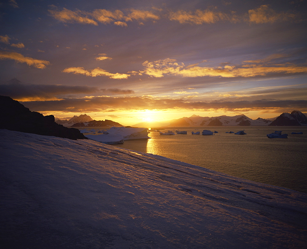 Sunrise, Antarctica, Polar Regions - 197-1006