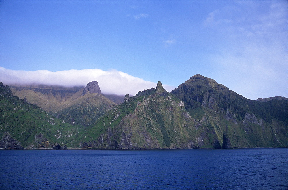 Quest Bay, Gough Island, Tristan da Cunha Group, South Atlantic
