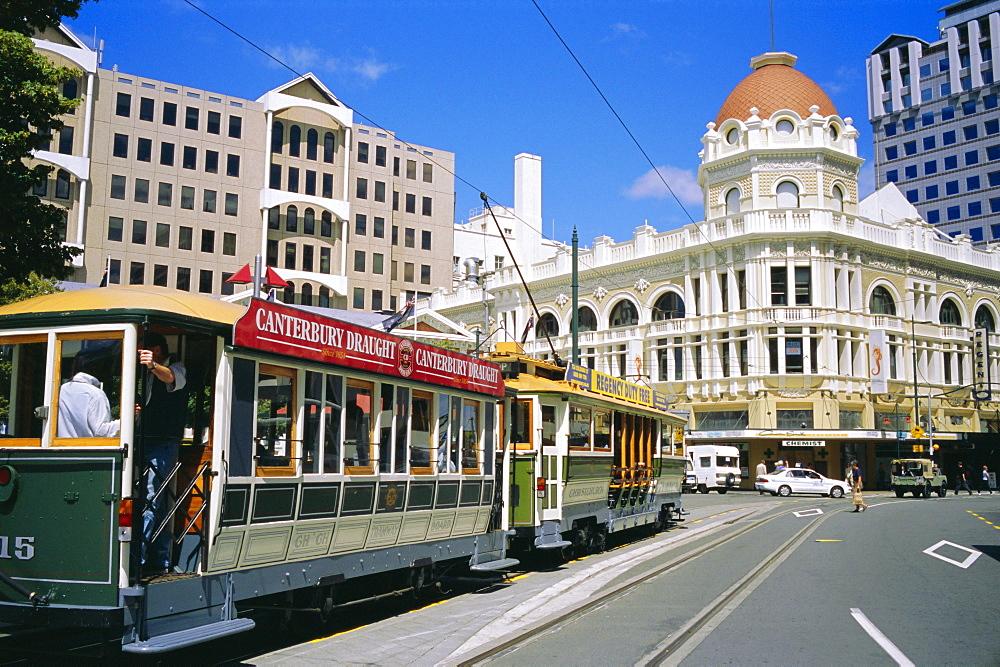 Downtown Christchurch, South Island, New Zealand