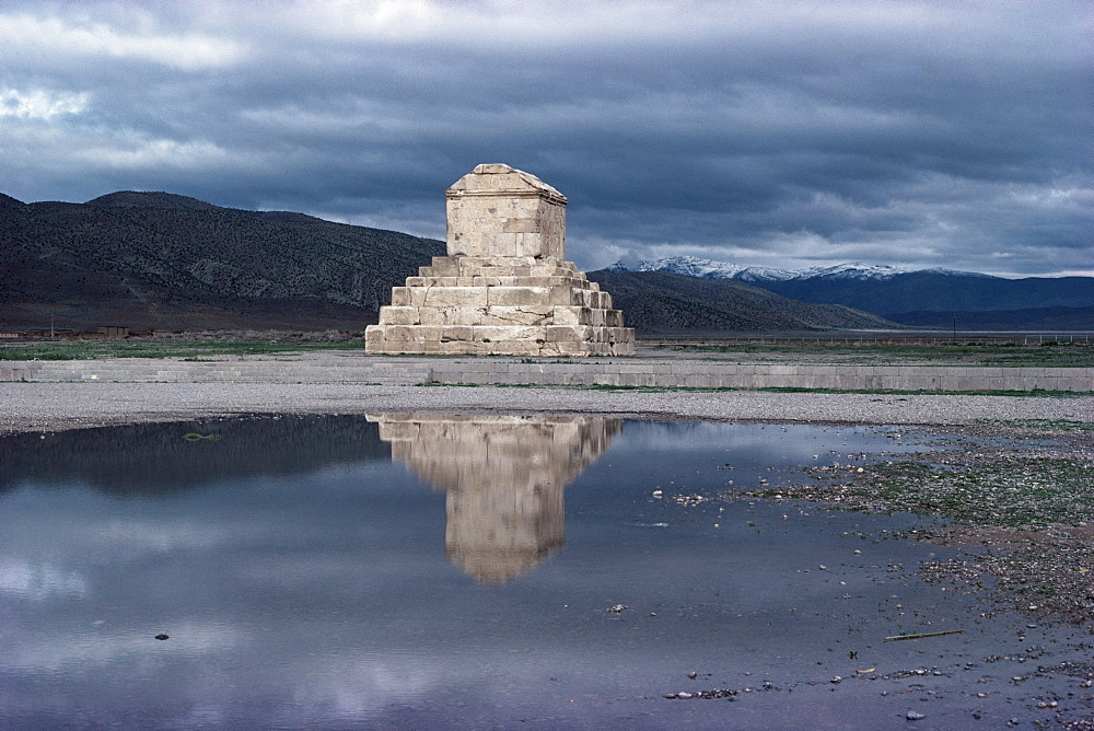 Tomb of Cyrus the Great, Pasargardae, Iran, Middle East