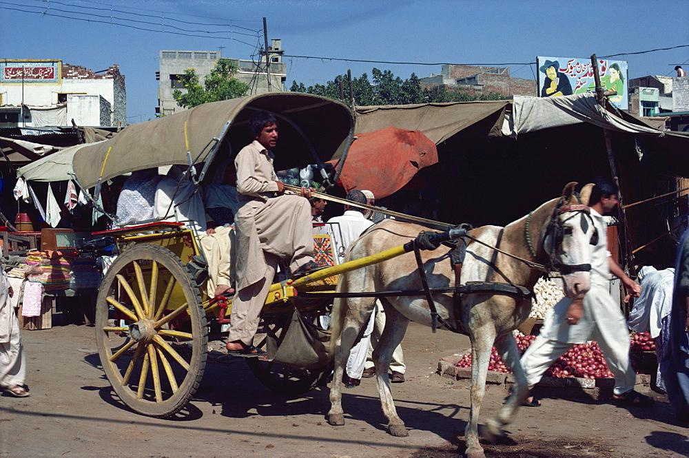 Tonga in Lahore, Pakistan, Asia