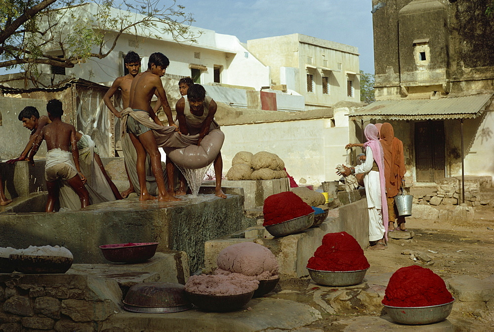 Paper making, Jaipur, Rajasthan state, India, Asia - 2-1849