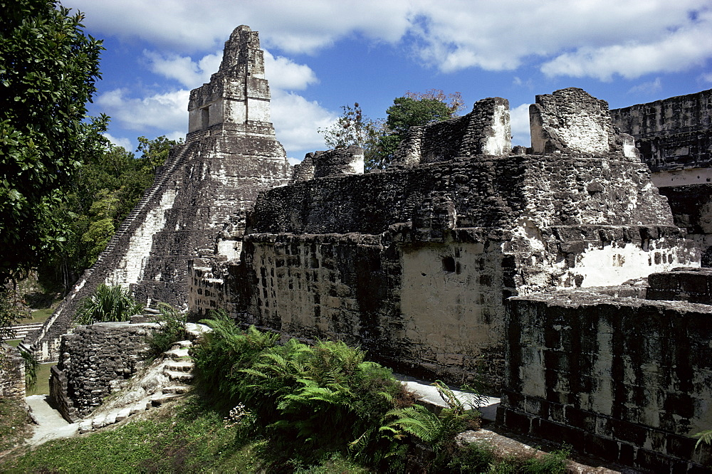 Temple I, Tikal, UNESCO World Heritage Site, Peten, Guatemala, Central America