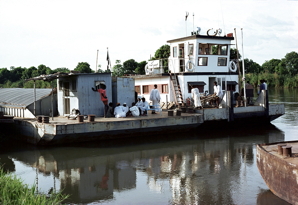 Steamer on the White Nile, Juba, Sudan, Africa