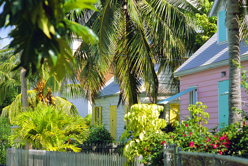 Hope Town, 200 year old settlement on Elbow Cay, Abaco Islands, Bahamas, Caribbean, West Indies