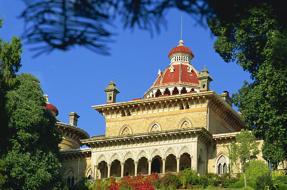 The 19th century Quinta by English architect James Knowles in Moorish Gothic style, Monserrate, Sintra, Portugal, Europe