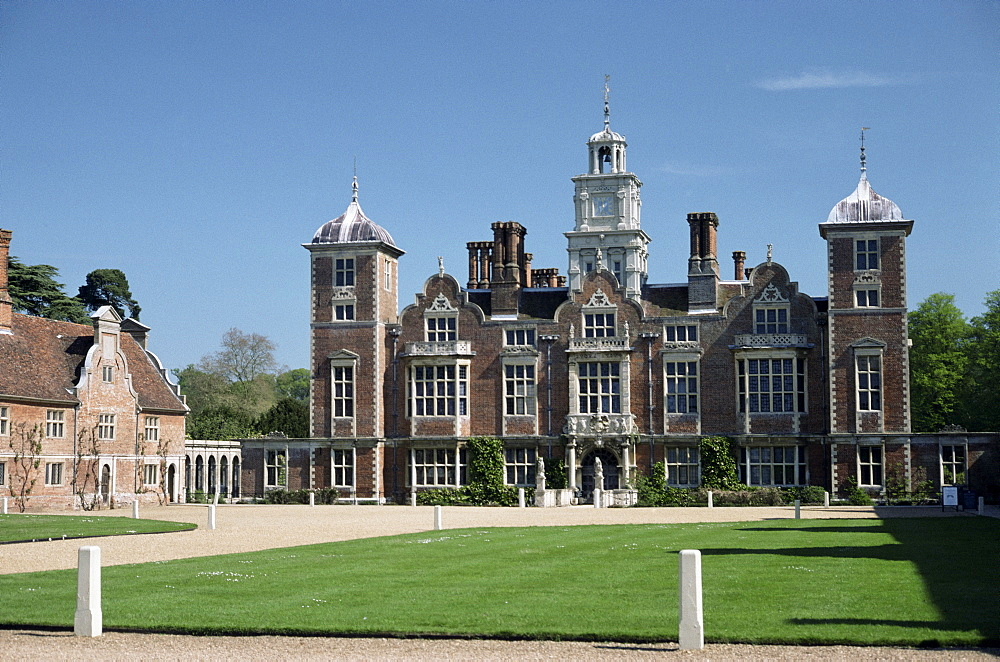 Blickling Hall, National Trust property dating from the early 17th century, Blickling, Norfolk, England, United Kingdom, Europe