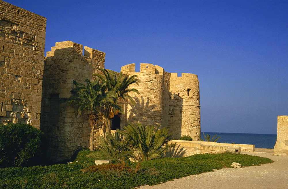 The 15th century fortress, Houmt Souk, Djerba, Tunisia, North Africa, Africa