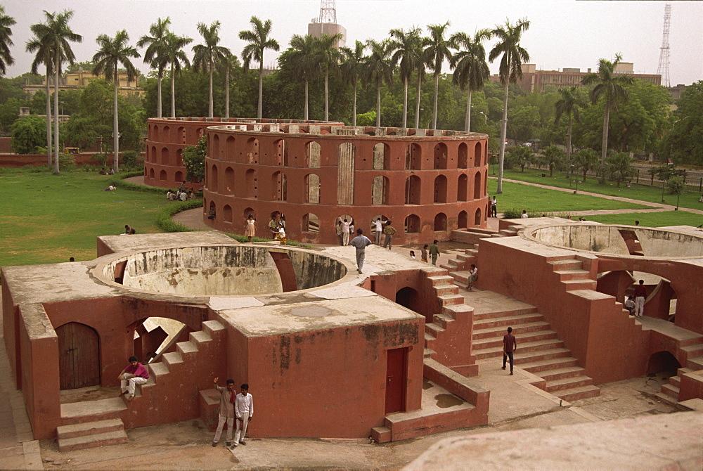 Jai Singh's Observatory (Jantar Mantar), Delhi, India, Asia - 225-2689