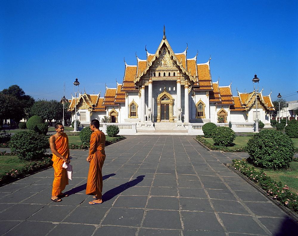 Wat Benjamabophit (Marble Temple), Bangkok, Thailand, Southeast Asia, Asia