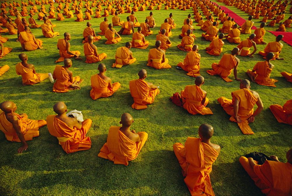 Buddhist monks, Thailand, Asia - 238-264