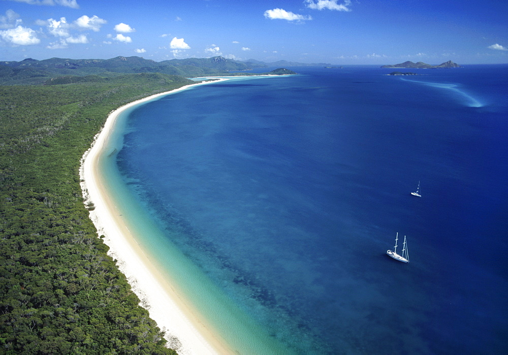 White Haven beach, Whitsunday Island, Queensland, Australia, Pacific