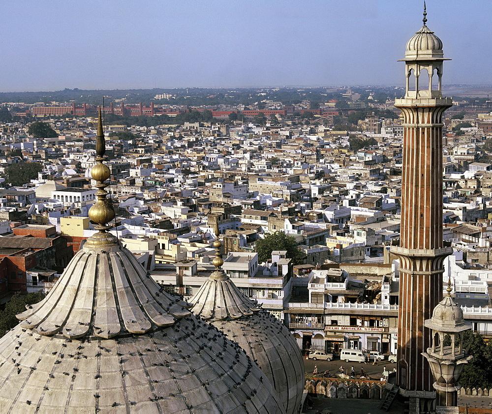 Jama Masjid in Old Delhi, India, Asia