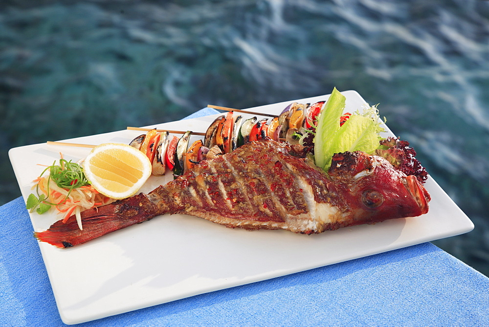 Seafood in Maldives, Asia - 238-4459