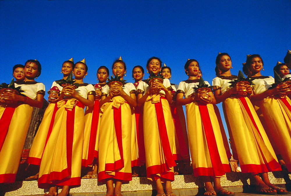 Loy Kratong festival, Sukhothai, Thailand, Asia - 238-502
